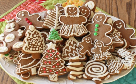 Gingerbread Cookies from Sugar and Spice & All Things Iced