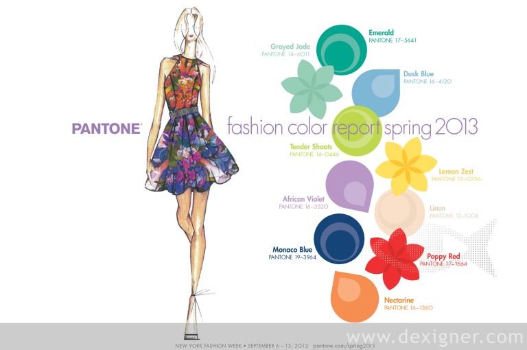 PANTONE: Fashion Color Report Spring 2013