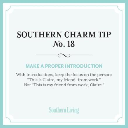 Southern Charm Tip No. 18