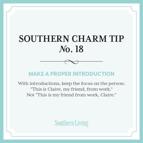 Southern Charm Tip No. 18