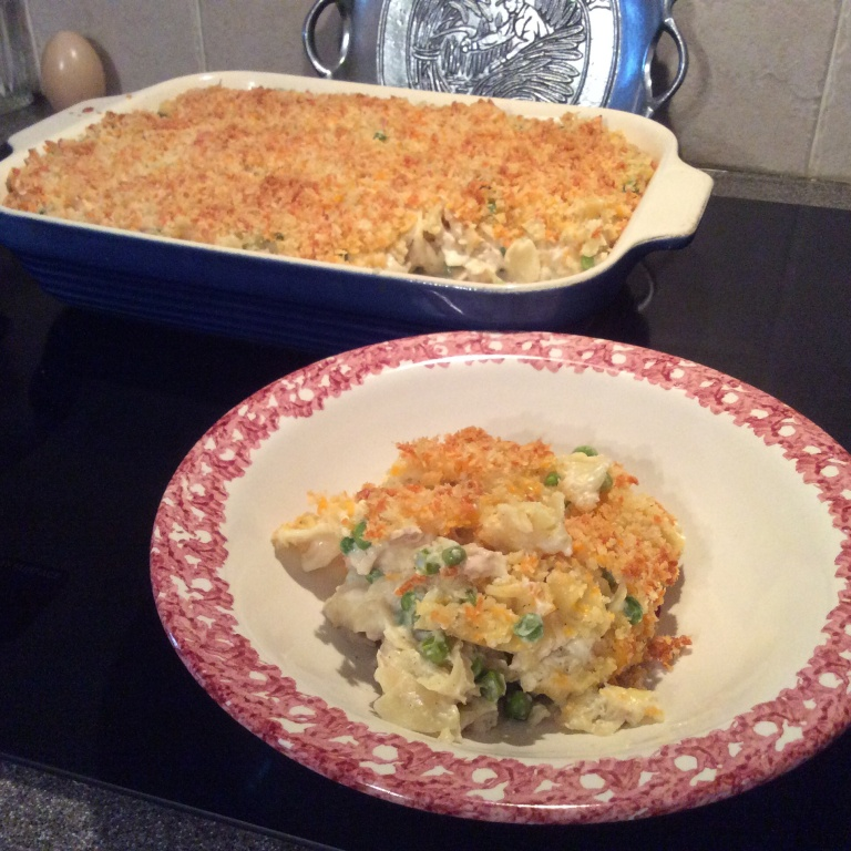 Hungry Guy Tuna Noodle Casserole
